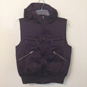 Lauren Ralph Lauren Purple Puffer Vest